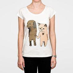 Cat Apparel for Women | dog and cat women's t shirt by monster threads | notonthehighstreet ...