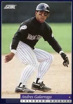 Andres Galarraga Colorado Rockies, Mlb, Baseball Cards, Sports, Hs Sports, Sport