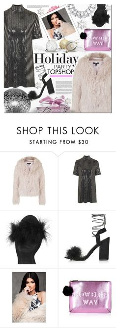 """""""Topshop"""" by barbarela11 ❤ liked on Polyvore featuring Topshop and Oh My Love"""