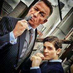 Kicking  and taking names in #Gotham! #BehindTheScenes #SetLife : @seanpertweegothamonfox