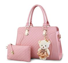 Kingcore Patent Leather Handbag Messenger Bag for Ladies…
