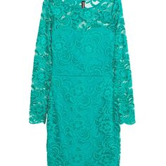 H&M Bodycon Stretch Lace Dress Size 2 NWT This H&M mini dress is in teal I included the other photo so you could see how beautiful it looks on. H&M Dresses Mini