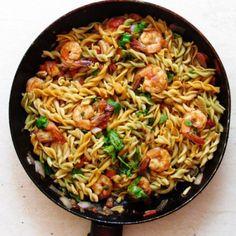 stir fry fussili and prawn 2