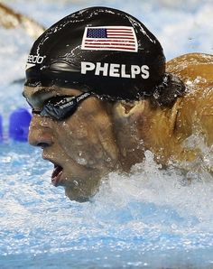 Michael Phelps is American swimmer. He is holder 28 Olympic medals of which 23 gold. Olympic Medals, Olympic Sports, Olympic Games, Olympic Gymnastics, I Love Swimming, Swimming Diving, Swimming Photos, Swimming Sport, Usa Olympics