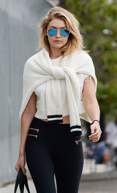 WHO: Gigi Hadid WHERE: On the street, Los Angeles WHEN: June 13, 2015