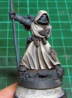 Tutorial: How to paint Dark Angels' Robes - Tale of Painters