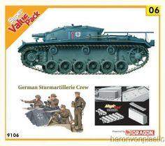 Cyber-Hobby 1/35 WW2 German StuG. III Ausf.E Panzer Kit w/Bonus Figures-Sale!