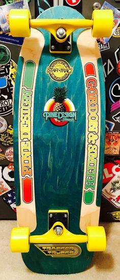 G & S Pine design, Tracker trucks Old School Skateboards, Vintage Skateboards, Pine Design, Skate Art, Skate Style, School Style, Stone Age, Skateboard Decks, Boarders