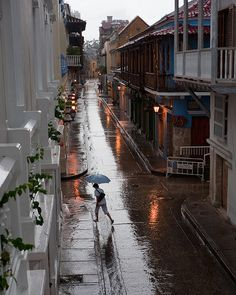 Streets of Cartagena de Indias   Colombia