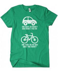 (http://www.evokeapparelcompany.com/car-vs-bike-t-shirt-guys-fashion-fit/)