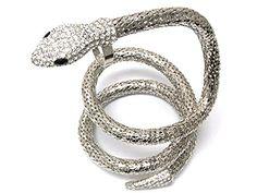 Snake Spiral Ring bracelet Hand Chain / Slave Bracelet / AZFJSBB154-SCL Arras Creations http://www.amazon.com/dp/B00SP1OBM4/ref=cm_sw_r_pi_dp_bY47ub17QWY11