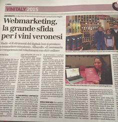 Fiorella Madè - Google+ | Si parla della mia tesi di #laurea in un articolo sul #WebMarketing del #vino. Inserto #Vinitaly dell'#Arena