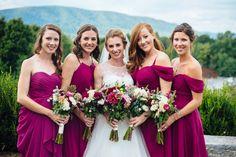 Julia & Chris' Maroon & Gold, Fall Inspired Virginia Wedding   Capitol Romance ~ Real DC Weddings