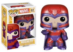 X-Men Classic Magneto Pop! Vinyl Figure! Once a close friend of mutant mentor Charles Xavier, the genetic terrorist known as Magneto is now his deadliest foe. Check out all of the X-Men Classic POP fi
