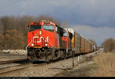RailPictures.Net Photo: CN 2322 Canadian National Railway GE ES44DC at Valparaiso, Indiana by Firemaneric