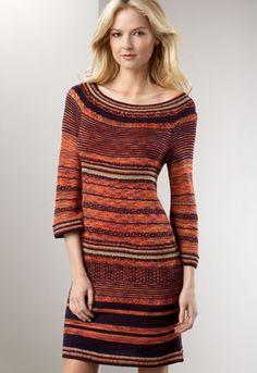 crochet fall dress - need to crochet a sweater dress for myself