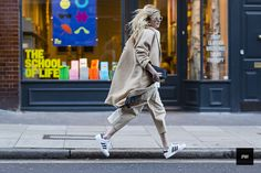 Street style - By jaiperdumaveste - JPMV - Nabile Quenum. // Camille Charriere during London fashion week Fall Winter 2014.