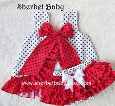 Items similar to Hot Pink Polka Dots Ruffled Pinafore Set Sassy Pants Ruffle Diaper Cover Bloomer on Etsy Baby Girl Dress Patterns, Little Girl Dresses, Baby Sewing Projects, Sewing For Kids, Toddler Outfits, Kids Outfits, Ruffle Diaper Covers, Sassy Pants, Kind Mode