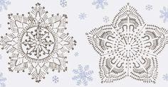 Fiocchi di neve hanno delle bellissime forme irripetibili! Le avete mai guardato da viconi? Fate cadere un fiocco di neve sul vostro guanto...