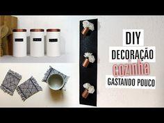 Não vai viajar nesse feriadão? Aproveita e vem ver 3 idéias de decoração p/ sua cozinha com materiais reciclados! http://youtu.be/z98FkXJgcIg