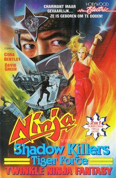 Twinkle Ninja Fantasy what ? Action Movie Poster, Movie Poster Art, Action Movies, Beastmaster Movie, Kung Fu Movies, Ninja Art, Martial Arts Movies, Shadow Warrior, Movie Covers