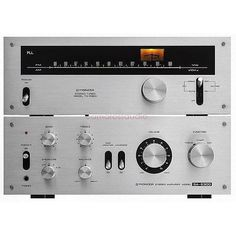 TX5300 and SA6300 Vintage Pioneer amp and tuner