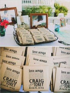 Cool Wedding Choices - Love Song | CD Wedding Favor #wedding #thatseasier #ittakestwo