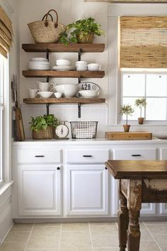 If you love the farmhouse style, but live in a builder grade home, here are 12 ways you can add charm and character on a budget!