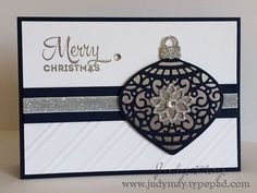 stampin up delicate ornament cards - Google Search