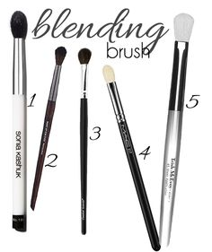 Eye Makeup Brushes 101: Why So Many? Yup truth to this