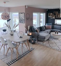 45 amazing gorgeous living room color schemes to make your room cozy 47 - Home Design Ideas Living Room Interior, Home Living Room, Home Interior Design, Living Room Decor, Dining Room, Living Room Colors, Living Room Designs, Home Decor, Sweet