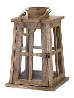 Give a spectacular elegance and charm to your family space with this Home Decorators Collection Taft Natural Wood Lantern. Into The Woods, Lantern Candle Holders, Candle Lanterns, Rustic Lanterns, Diy Wood Projects, Oil Lamps, Home Accents, Barn Wood, Decorative Accessories