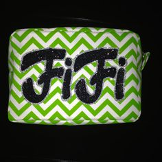 Cosmetic, make up bag perfect size for travel or everyday use.
