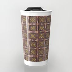 Earth Art: Patches Travel Mug
