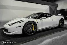 458 Italia owned by vossen wheels