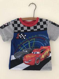 NWT Boy/'s Gymboree Auto Crew motorcycle polo shirt ~ 12 18 24 months 3T