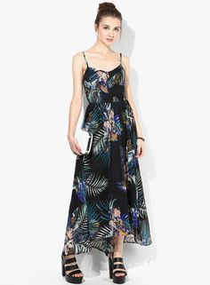 982e5fcfcb Buy Miss Selfridge Multicoloured Printed Maxi Dress Online - 3718640 -  Jabong