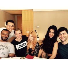 Pin for Later: Shadowhunters: You're About to Be Completely Obsessed With These Behind-the-Scenes Photos  Everyone looked flawless on their first day of rehearsals.