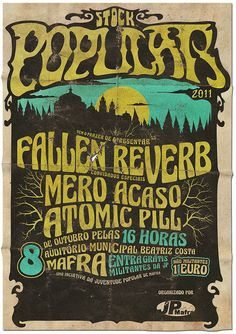 Cool concert poster