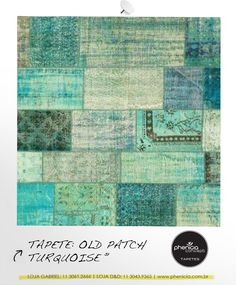 Phenicia Concept - Tapete: Old Patch Turquoise