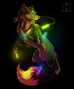 """((open rp))"""" sup, im Dj. you might as well know my sister Galaxy. I always envoy her that she has wings, but i have the power of lightning. im a music lovin' wolf ((played by me))"""