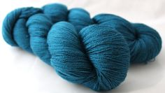 Scrumptious Lace 45% Silk / 55% Merino shown in Teal 1,093 yds $28.60