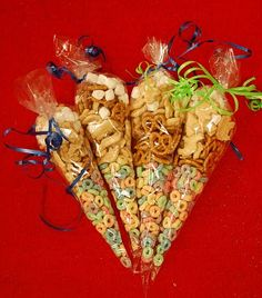 Back to School Magic Snack Mix and poem