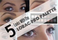 Makeup and Macaroons: 5 Looks With The Lorac Pro Palette