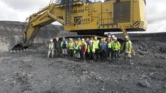 Kier welcomed 19 geologists from the Edinburgh Geological Society to its Greenburn surface mine operation in Ayrshire. The group was able to study the fresh exposures of the coal bearing rocks in the working faces without danger of interference from operatijng plant. Surface Mining, The Fresh, Geology, Edinburgh, Rocks, Plant, Study, Community, Group