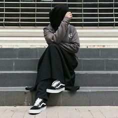 Niqab Fashion, Muslim Fashion, Modest Fashion, Fashion Outfits, Hijab Niqab, Muslim Hijab, Hijab Chic, Hijabi Girl, Girl Hijab