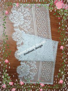 Crochet Edgings, Filet Crochet, Crochet Doilies, Crochet Lace, Crochet Patterns, Needlework, Diy And Crafts, Embroidery, Deco