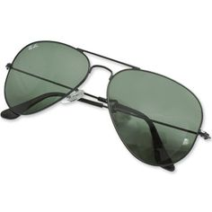 Ray-Ban Aviator Large Metal Sunglasses - Black #raybans
