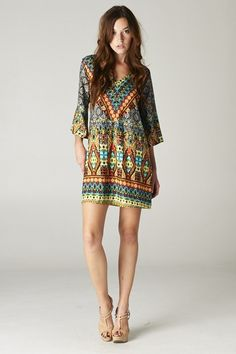 Catch Bliss Boutique - Kendra Tunic , $48.00 (http://www.catchbliss.com/kendra-tunic/)