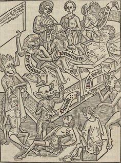 Bibliothèque nationale de France, département Réserve des livres rares, XYLO-23. Ars moriendi «Quamvis secundum philosophum» 1480-1485
